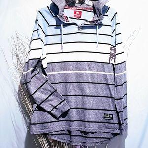 Ecko Unlimited Shirts - Ecko Unltd Striped hoodie size 2XL🆕🦅